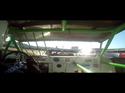 6.20.15---Peoria Speedway---Street Stock Heat Race---In car