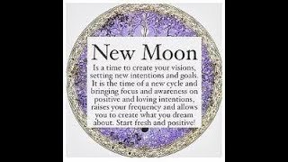 New moon manifesting and abundance guided meditation