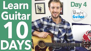 Guitar Lesson 4 - Your First Riff! [10 Day Guitar Starter Course]