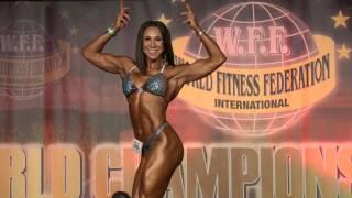 Lara Tasharofi – Competitor No 56 – Women  Athletic - WFF World Championship 2016