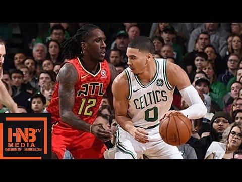 Boston Celtics vs Atlanta Hawks 1st Half Highlights / Feb 2 / 2017-18 NBA Season