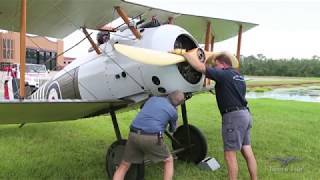 Sopwith Snipe - First Flight in 5 Years - Prep for Oshkosh