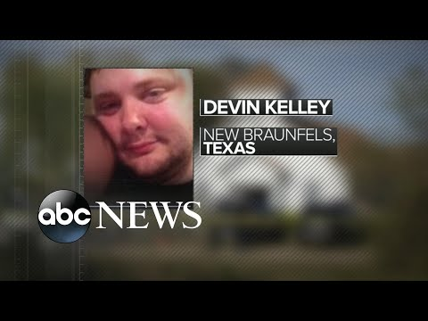 Authorities identify Texas church shooting suspect