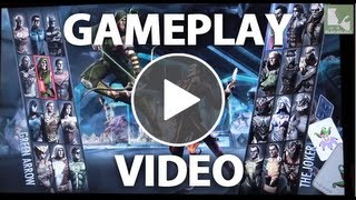 Injustice: Gods Among Us Gameplay - Play-Select