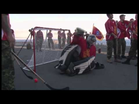 USS Essex Hosts Hockey Night during RIMPAC
