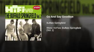 Go And Say Goodbye
