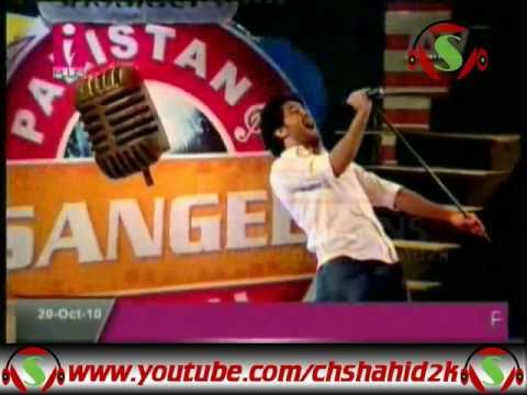Haroon Shahid Pappuyaar Pakistan Sangeet Icon 1 Elimination 12