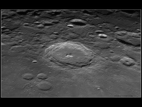 The Lunar Surface Through A Telescope! (March 24, 2019) Early AM