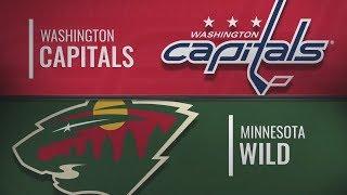 Миннесота vs Вашингтон | Washington Capitals at Minnesota Wild | NHL HIGHLIGHTS | НХЛ ОБЗОР МАТЧА
