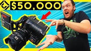 Sam Drops $ 50,000 Camera!