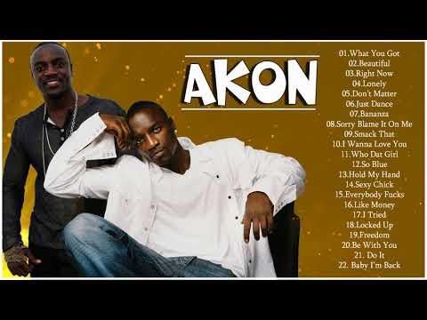 Akon Best Songs - Akon Greatest Hits Full Album 2018