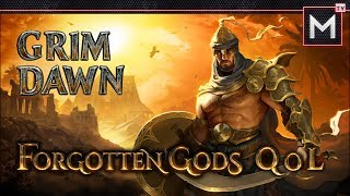 Grim Dawn Forgotten Gods - Quality Of Life Wish List