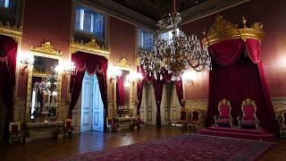 A Walk Through The Royal Palace, Palácio da Ajuda - The Throne Room was WOW!