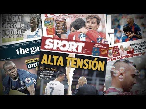 Les insultes de Cristiano Ronaldo à Zidane | Revue de presse