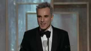 Daniel Day Lewis wins Best Actor - Golden Globes 2013