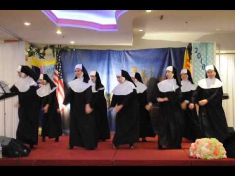 RP Sister Act 1 & 2 - Regina Pacis Hop Mat - May 2016