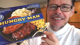 Hungry-Man Backyard Barbeque Review - LarryGravesTV