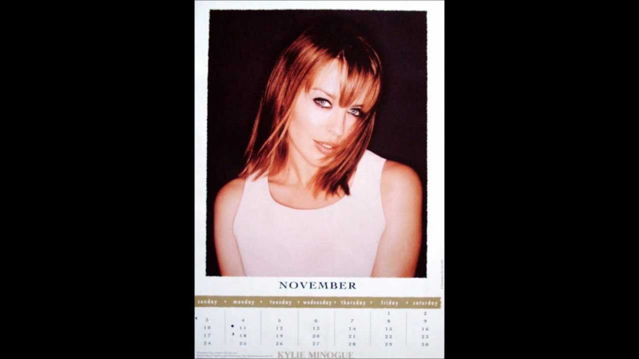 Kylie Minogue 1996 Calendar Youtube