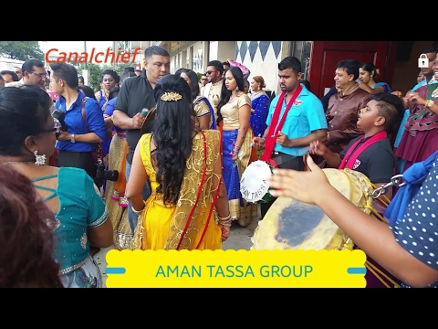 Aman Tassa Group, Tassa Drumming at Indian Wedding,
