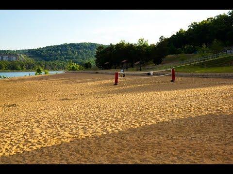 Moonshine Beach - a nice sandy beach 4 miles from Branson, MO