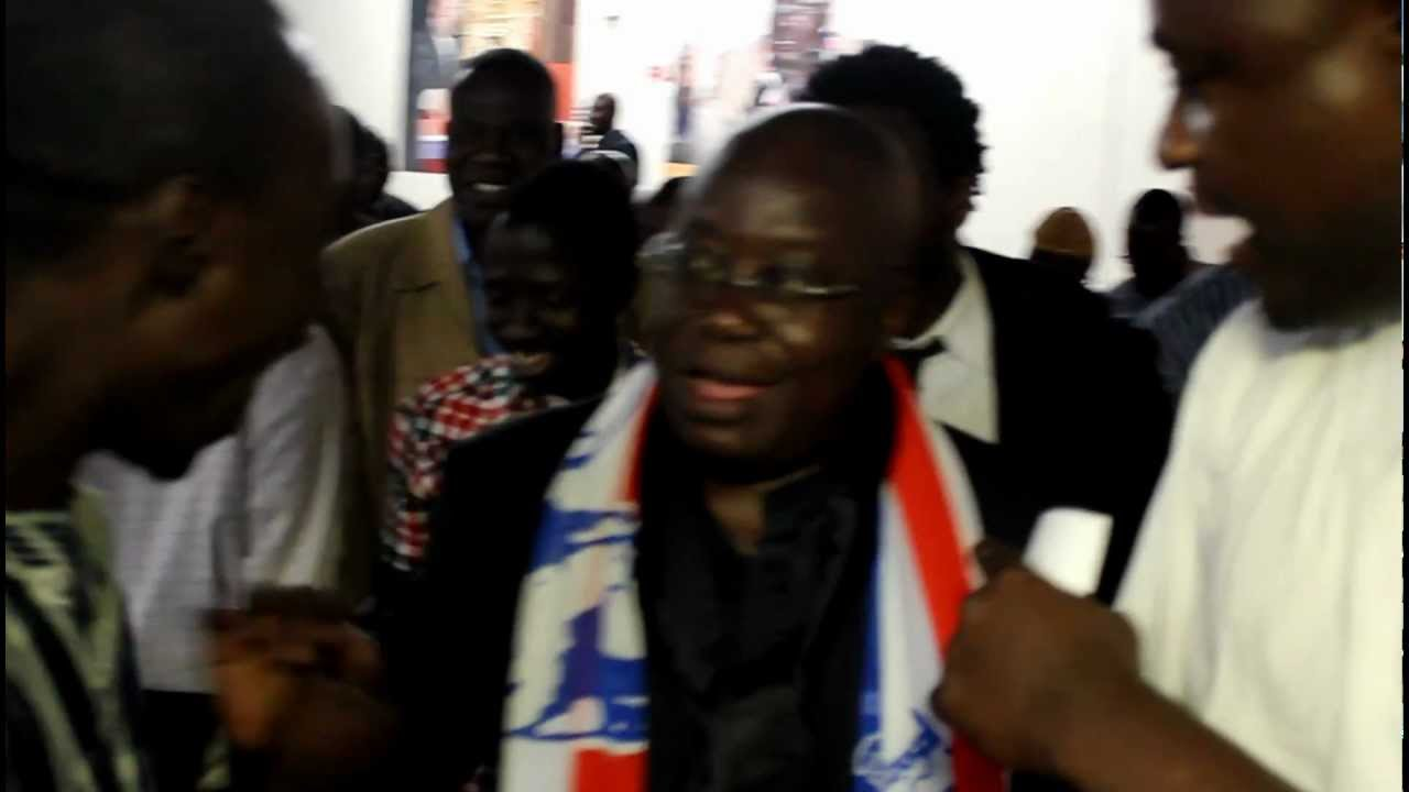 NANA AKUFO-ADDO in NEW YORK CITY (NPP CANDIDATE 2012)
