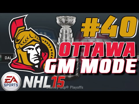 "NHL 15: GM Mode Commentary - Ottawa ep. 40 ""Stanley Cup Finals"""