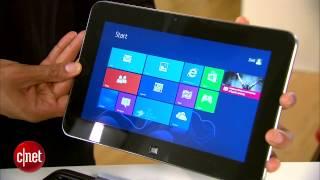 The Dell XPS 10 runs Windows RT, feels like a laptop