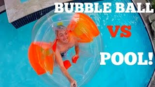 BUBBLE BALL VS POOL!