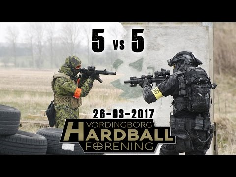 Airsoft | Skirmish Vordingborg Hardball Forening | 5 vs. 5 & Unlimited Respawns |  26 march 2017