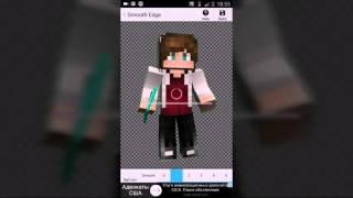 Как сделать 3D арт своего скина на Android(Программы: 1.Anime It 2.Eraser 3.Photo Layers 4.Phonto Все можно..., 2016-01-18T20:51:46.000Z)