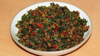 Achicha Ede | Very Traditional Igbo Meal