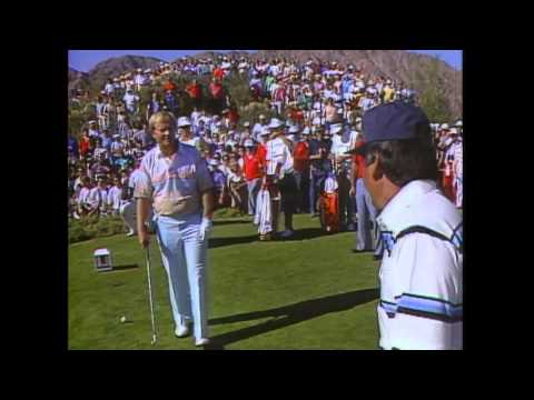 Lee Trevino's Ace on #17 of the TPC Stadium Course during the 1987 Skins Game at PGA WEST!