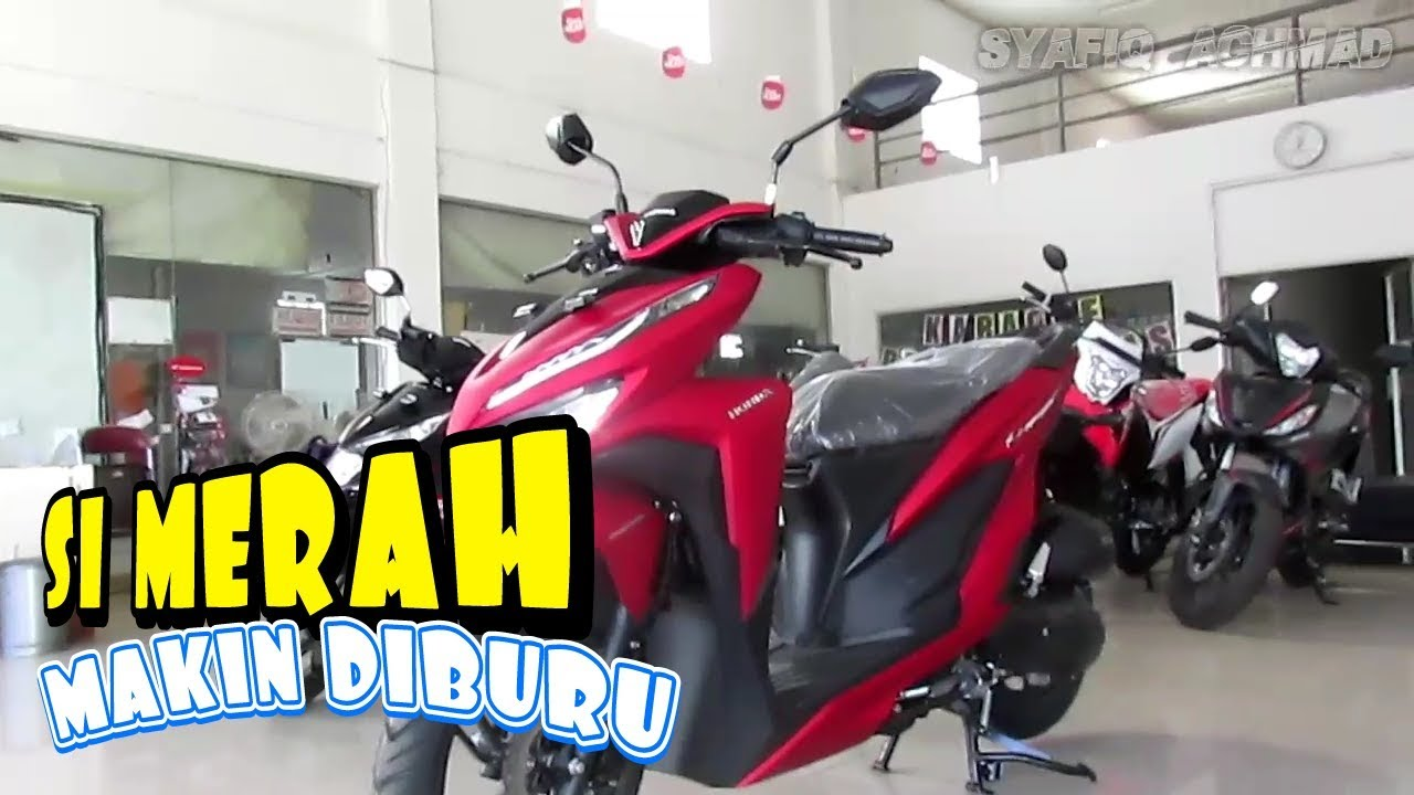 Vario 150 2019 Exclusive Matte Red Harga Honda Vario Terbaru Youtube