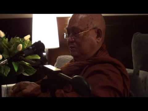 Dhamma Talk by Panditarama Sayadawgyi ( Singapore )