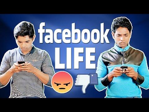 Facebook Life   Hindi Comedy Video   Pakau TV Channel thumbnail