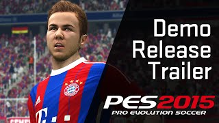 [New & Official] Demo Release Trailer [PES 2015]