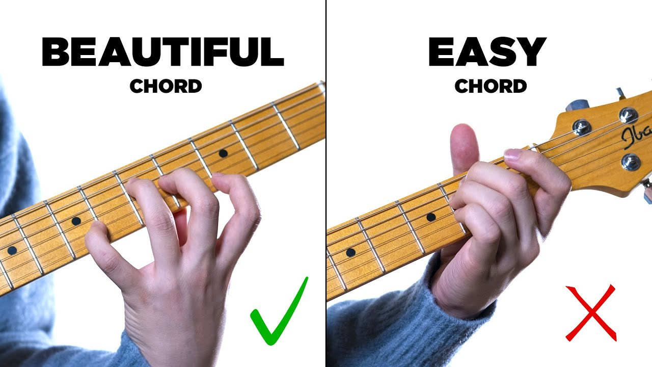 Easy chords to beautiful chords