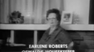 Earlene Roberts, Lee Harvey Oswald