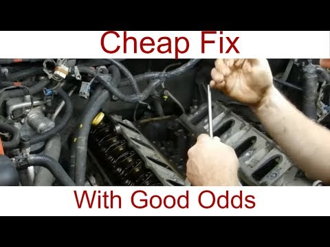5.3l Collapsed lifter GM AFM DOD Easy fix. DIY collapsed lifter fix!!!