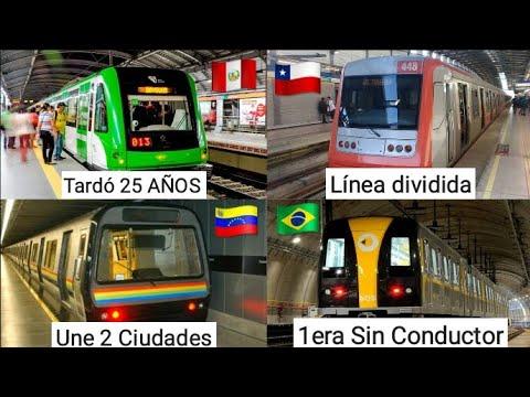 6 Curiosidades sobre los METROS de Latinoamérica (Parte 2)