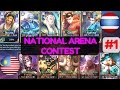 Thailand Vs Malaysia [1st Game 100517] National Arena Contest Mobile Legends