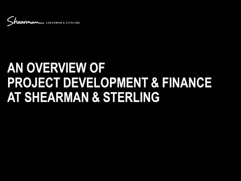 An Overview of Project Development & Finance