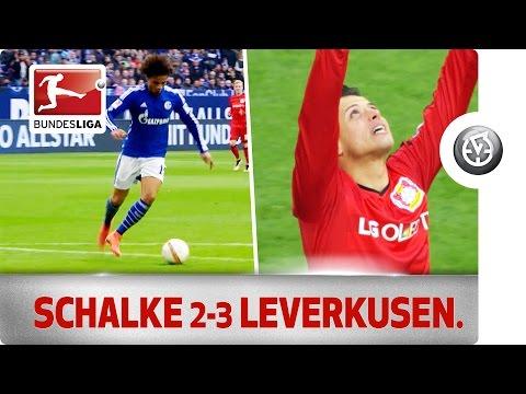 Schalke vs. Leverkusen - Chicharito Decides 5-Goal Thriller