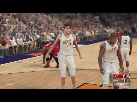 NBA 2K17 Los Angeles Clippers vs Phoenix Suns FULL GAMEPLAY (PS4/Xbox One)
