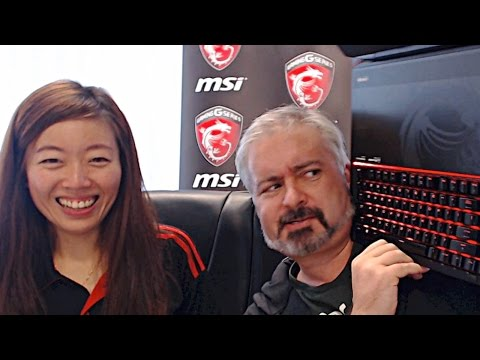 The Laptop you need to TAKE OVER THE WORLD! … MSI Livestream (Replay)