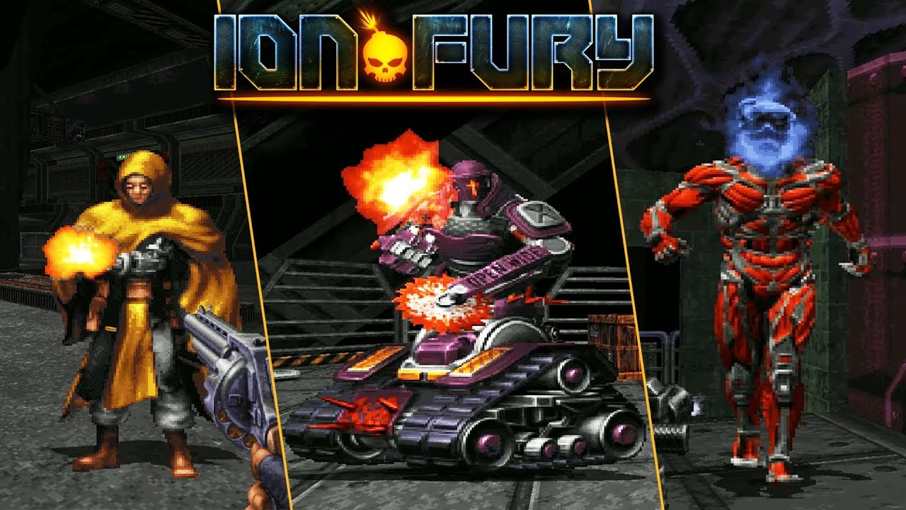 The Enemies of Ion Fury