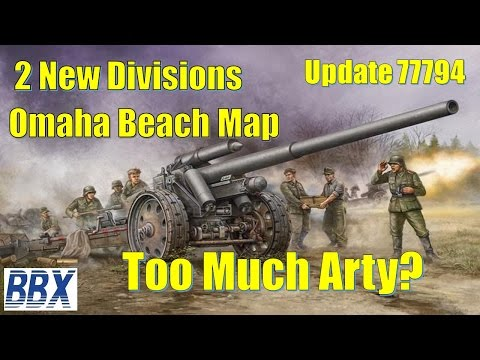 Steel Division Normandy 44   Patch Update 78029   New Map 2 Divisions
