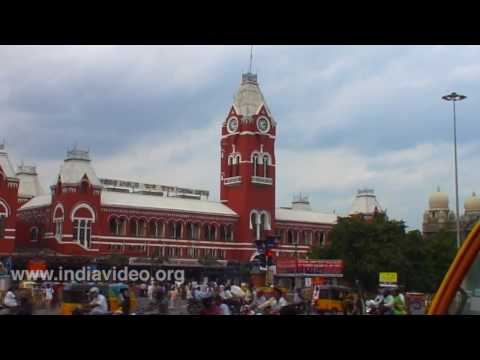 Chennai Central Railway Station  Madras Tamil Nadu
