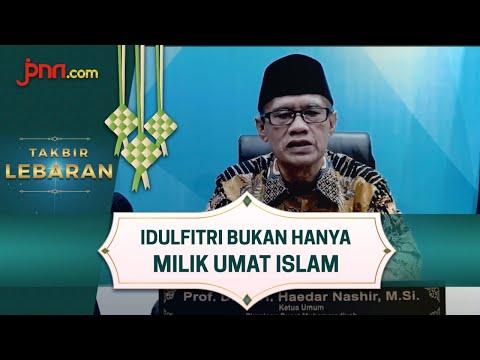 Ketum PP Muhammadiyah: Idulfitri Proses Menumbuhkan Jiwa Saleh