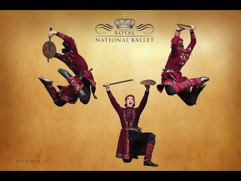 ✔The Royal National Ballet - Trailer - Fire Of Georgia